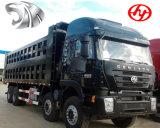 コンゴで熱いIveco Genlyon 8X4 380HPのトラック