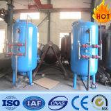 El tanque mecánico de alta presión del filtro de arena para la depuradora