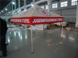 Het Aluminium dat van de douane Gazebo met Druk vouwt