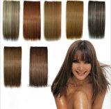 Le estensioni lunghe dei capelli diritti di modo delle donne più poco costoso con la clip