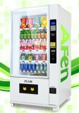 Grande Capacity Beverage & Condom Automatic Vending Machine con Media