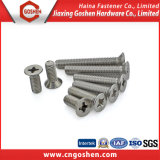 Estoque em DIN965 Cross Recessed Flat Head Machine Screw
