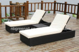 Wicker Aluminium Rattan extérieur Beach Lounge Leisure Chair