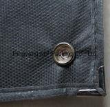 Nonwoven мешок одежды крышки костюма застежки -молнии с ясными карманн PVC