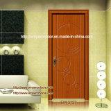 Porte de panneau, porte libre de peinture, profil en plastique, portes