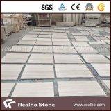 Marbre en bois blanc de veine de marbre bon marché de plancher