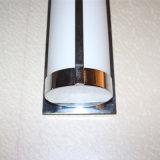 Lampada da parete di vetro bianca opalina decorativa del lato del letto dell'hotel moderno