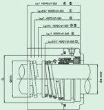 Pumpe (HG9)를 위한 고무 우는 소리 기계적 밀봉