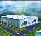 Edificio prefabricado ligero de la estructura de acero para el almacén/el taller