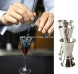 Vin Pourers de cuvette de mesure de mélangeur de boissons de cocktail d'acier inoxydable