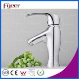 Fyeer modernes Wasser-Einsparung-Badezimmer-Messingbassin-Wasser-Hahn