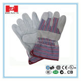 Guantes punteados PVC del algodón (SPE-PPE-HAP-PVCDHG-517-2)