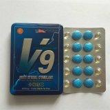 Prodotto sessuale maschio del rinforzatore delle pillole del sesso dello stimolante V9