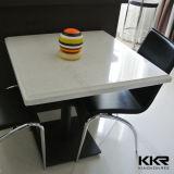 Moderne weiße Qualitäts-fester Oberflächenspeisetisch