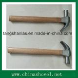 Молоток с раздвоенным хвостом стали углерода хорошего качества молотка с ручкой