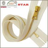 #5 chiudono Estremità Metal Zipper per Garment