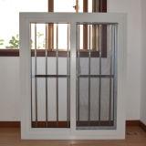 Профиля цвета UPVC хорошего качества Kz255 окно белого сползая с сетью нержавеющей стали доказательства взломщика