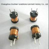 Inductor Wirewound de alta frecuencia de la bobina de estrangulación de la potencia para el LED con RoHS
