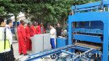 Blocchetto usato cenere volante idraulica automatica di Zcjk Qt6-15 in pieno che fa macchina Germania