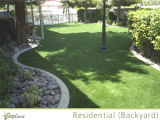 herbe de forme de 25mm, maison et décoration synthétiques de Gradern