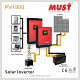 Hoge Frequency Hybrid Solar Inverter met MPPT 60A Controller