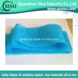 Tessuto non tessuto bianco di Adl per le materie prime del pannolino del bambino con lo SGS