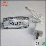 재충전용 LED 경고 경찰 빛