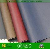 la fibra nera 40d con il tessuto di nylon del rivestimento della gomma piuma per giù ricopre