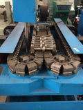 Airl 냉각 HDPE 물결 모양 관 PVC 지느러미 붙은 관 기계
