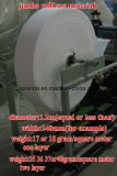 자동적인 냅킨 조직 기계에 의하여 돋을새김되는 접히는 냅킨 서류상 장비