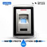 Fr-W2 Toegangsbeheer van de Vingerafdruk RFID van USB de Waterdichte Biometrische