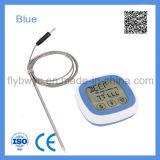 異なったカラー無線調理用温度計