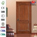 Дверь Teak HDF/MDF n/кожа двери отлитые в форму Veneer (JHK)