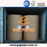 Papier blanc de papier journal en petit emballage de roulis