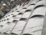 Mármol blanco profesional para el proyecto y la decoración