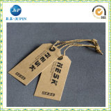 Étiquettes de vêtement de constructeur pour les étiquettes de cadeau d'étiquettes de coup de vêtement (JP-HT011)