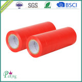 Горячая продавая лента PVC красного цвета с хорошими свойствами изоляции