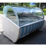 Carrello della vetrina del gelato/congelatore ad aria compressa per il bastone di Gelato