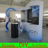 2016 cabines de alumínio personalizadas equipamento de anúncio da feira profissional