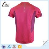 Abiti sportivi all'ingrosso rovesciabili delle magliette dell'uomo