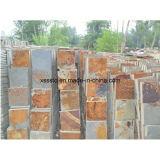 Piedra Natural baratos azulejos de pizarra para pisos