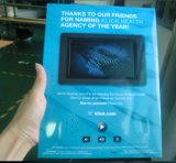 Einzelne Seite 7 Zoll-videobroschüre - Videokarte