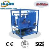 Aceite hidráulico inútil usado que recicla la máquina