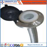 Tuyau en téflon flexible en PTFE en acier inoxydable