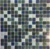 Decoración Material Beige baño de vidrio del azulejo