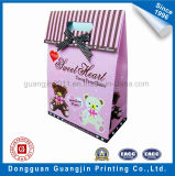 Buntes New Design Triangle Shape Paper Gift Bag mit Ribbon