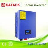 Inversor solar da C.C. 24V 48V com construído no preço de fábrica solar do carregador do controlador