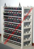 Cremagliere di montaggio di carico della batteria di servizio su ordinazione della cremagliera della cremagliera della batteria della pagina d'acciaio delle batterie