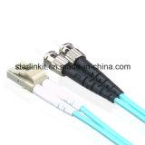 Sc St (SC / ST, ST / SC) 10g Om3 / OM4 50/125 Multimode mode fibre optique Patch Cord - 3m