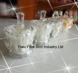 L'art de décorations de fête d'anniversaire d'usine de la Chine cogne la bougie en verre